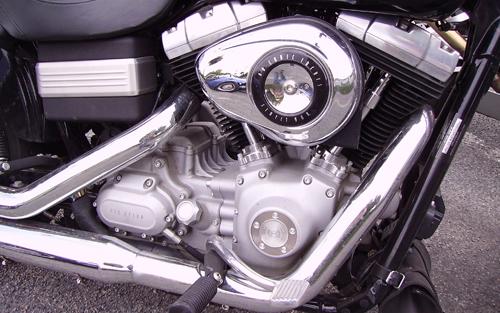V型2気筒